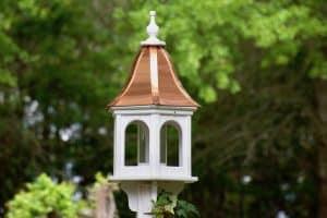 10 Unique Copper Bird Feeders